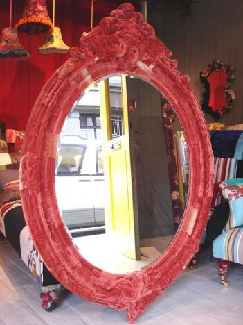 Velvet-mirror