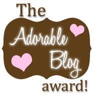 Adorableblog award