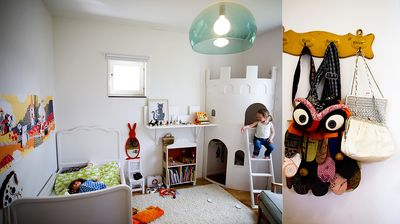 Childrens bedroom from Dosfamily.com