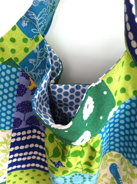 Echino bag closeup