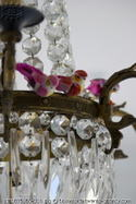 Pink_fake_birds_on_chandelier